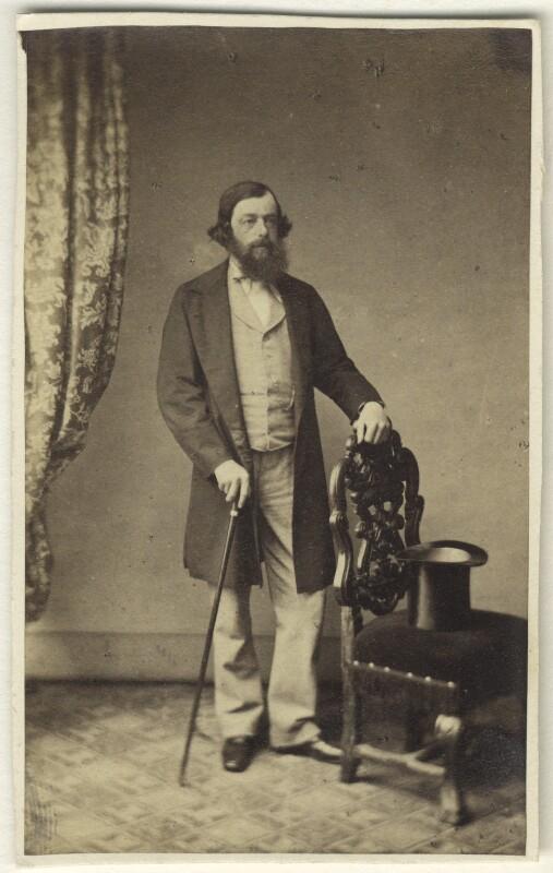 George Henry Vansittart, by Rolfe's Portrait Studio, 1860s - NPG Ax46337 - © National Portrait Gallery, London