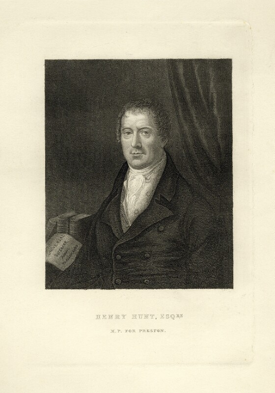 Henry Hunt, by Unknown artist, 1830 or after - NPG D20838 - © National Portrait Gallery, London