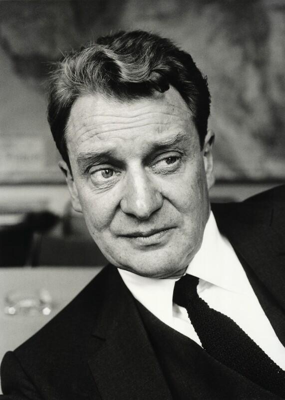 (Francis) David Langhorne Astor, by Jane Bown, 1963 - NPG x128559 - © Jane Bown