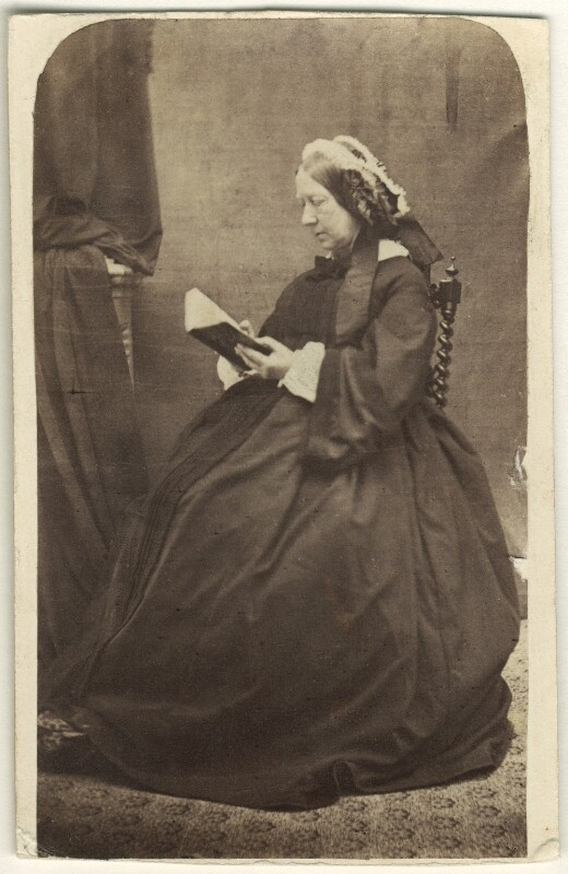 Mary (née Hurt), Lady Auckland, by Unknown photographer, 1860s - NPG Ax46400 - © National Portrait Gallery, London