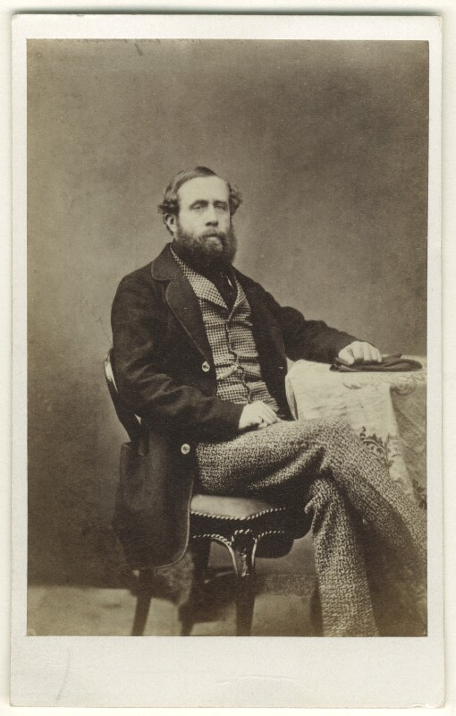 Hon. Laurence Harman King-Harman, by Thomas Cranfield, 1860s - NPG Ax46402 - © National Portrait Gallery, London