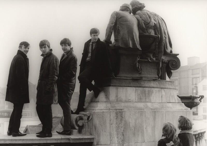 The Beatles (Ringo Starr; George Harrison; Paul McCartney; John Lennon), by Michael Ward, 19 February 1963 - NPG x128564 - © Michael Ward Archives