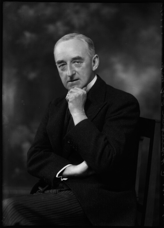 Sir Cyril Atkinson, by Bassano Ltd, 11 October 1931 - NPG x150695 - © National Portrait Gallery, London