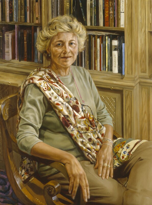 Dame Vivien Louise Duffield, by Charlotte Harris, 2005 - NPG 6765 - © National Portrait Gallery, London