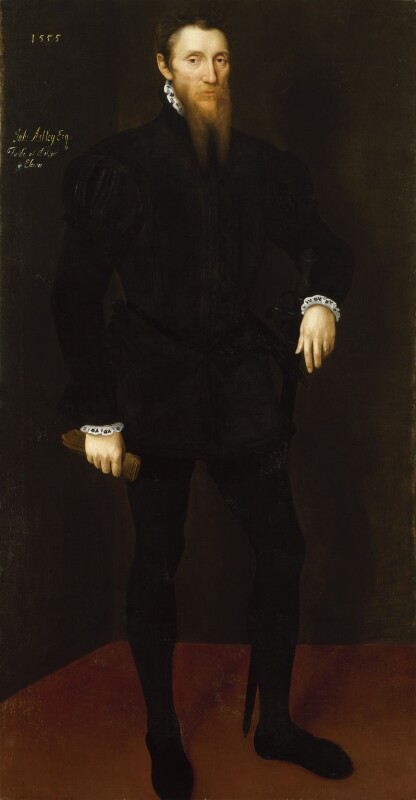 John Astley, by Unknown Netherlandish artist, 1555 - NPG 6768 - © National Portrait Gallery, London