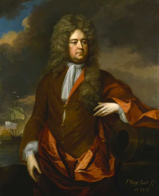 Sir George Rooke, by Michael Dahl, circa 1706 - NPG 6769 - © National Portrait Gallery, London