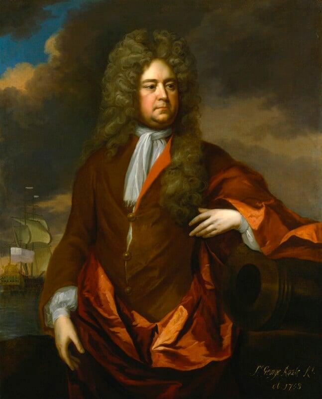 Sir George Rooke, by Michael Dahl, circa 1706 - NPG 6769 - © National Portrait Gallery, London