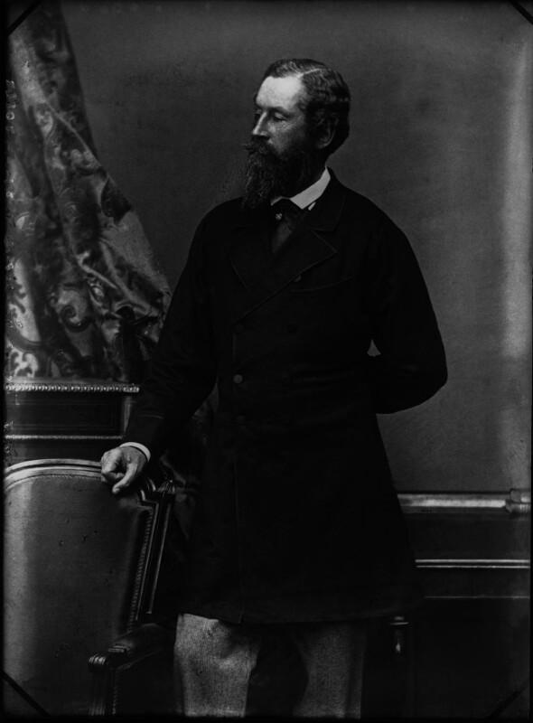 James Hamilton, 1st Duke of Abercorn, by Alexander Bassano, 1870s - NPG x30749 - © National Portrait Gallery, London