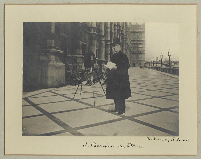 Benjamin Stone, by Roland Parker Stone, 1911 - NPG x18888 - © National Portrait Gallery, London
