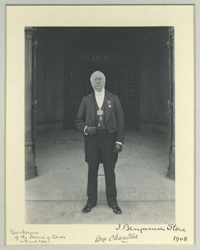 William Chandler, by Benjamin Stone, 1908 - NPG x44608 - © National Portrait Gallery, London