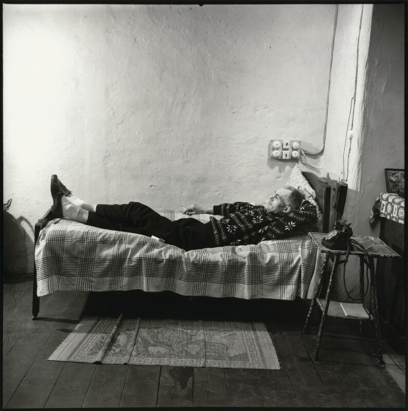 Colin MacInnes, by Ida Kar, 1957 - NPG x128598 - © National Portrait Gallery, London