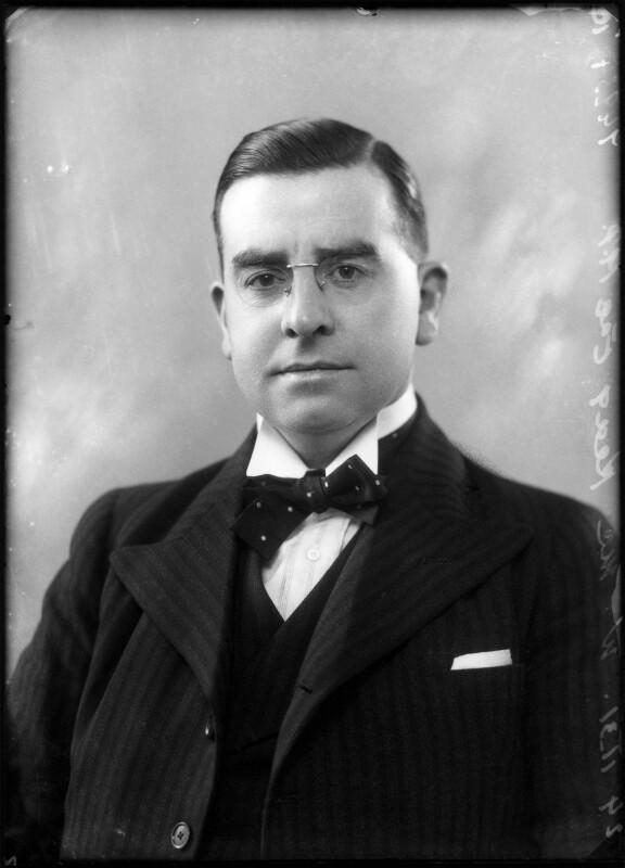 William McKeag, by Bassano Ltd, 24 November 1931 - NPG x150749 - © National Portrait Gallery, London