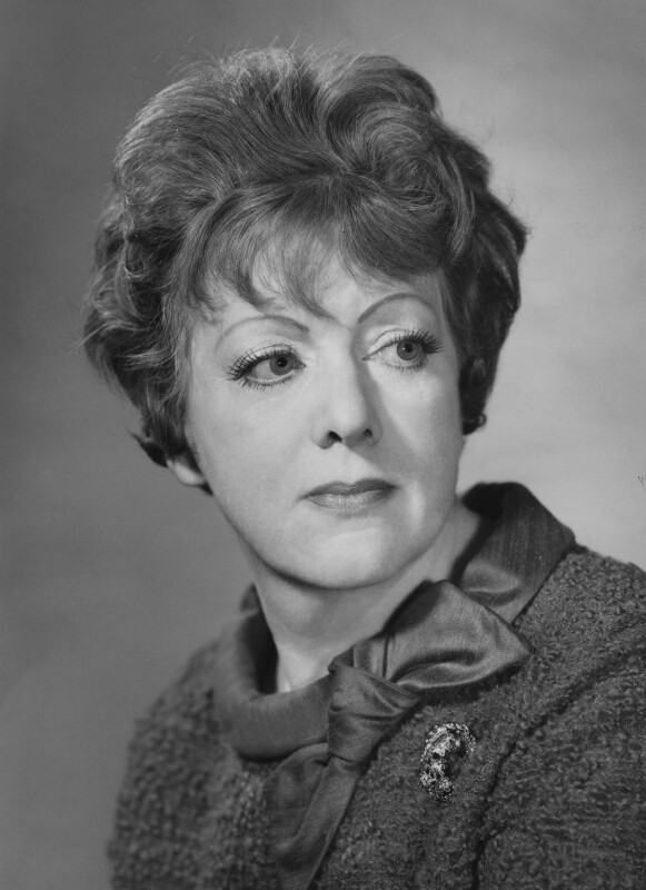 Renée Short, by Godfrey Argent, 12 February 1969 - NPG x165872 - © National Portrait Gallery, London