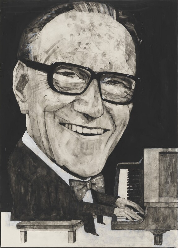 Arthur Askey, by Barry Ernest Fantoni, 1970 - NPG 6773 - © National Portrait Gallery, London