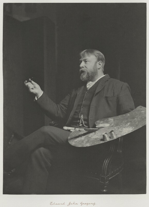 Edward John Gregory, by Ralph Winwood Robinson, published by  C. Whittingham & Co, published 1892 - NPG x7368 - © National Portrait Gallery, London