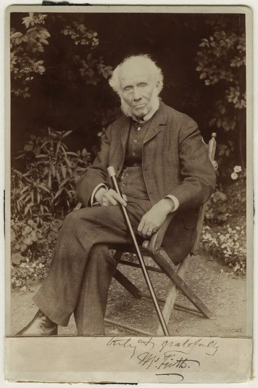 William Powell Frith, by Window & Grove, circa 1908 - NPG x15425 - © National Portrait Gallery, London