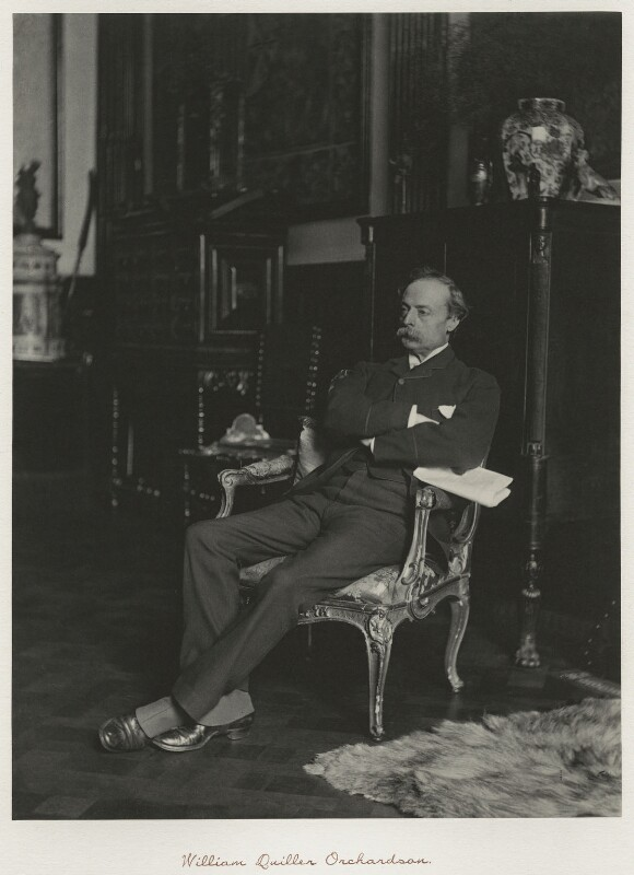 Sir William Quiller Orchardson, by Ralph Winwood Robinson, published by  C. Whittingham & Co, published 1892 - NPG x7382 - © National Portrait Gallery, London
