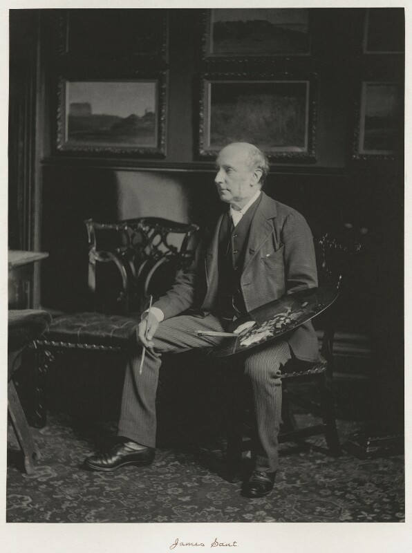 James Sant, by Ralph Winwood Robinson, published by  C. Whittingham & Co, published 1892 - NPG x7390 - © National Portrait Gallery, London