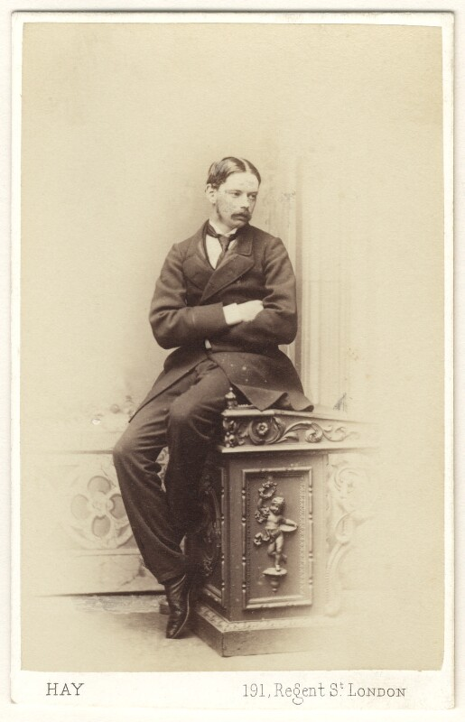Captain Eyre, by George Heron Hay, 1860s - NPG Ax46390 - © National Portrait Gallery, London