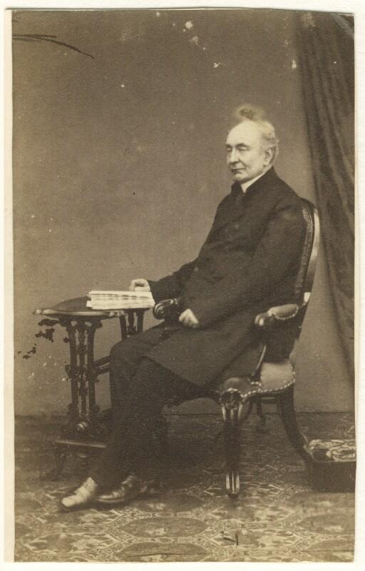 Hugh Usher Tighe, by James Robinson, 1860s - NPG Ax46450 - © National Portrait Gallery, London