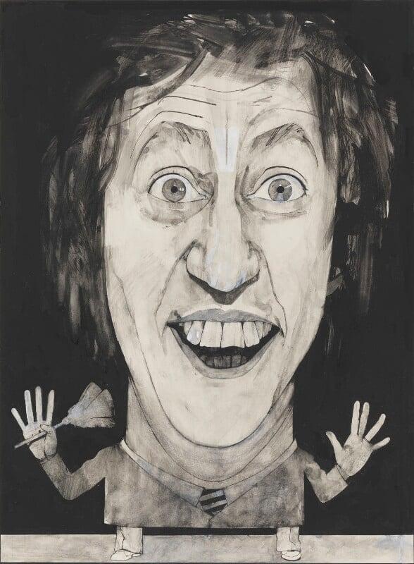 Ken Dodd, by Barry Fantoni, 1978 - NPG 6777 - © National Portrait Gallery, London