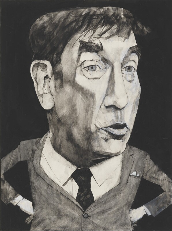 Frankie Howerd, by Barry Ernest Fantoni, 1978 - NPG 6783 - © National Portrait Gallery, London