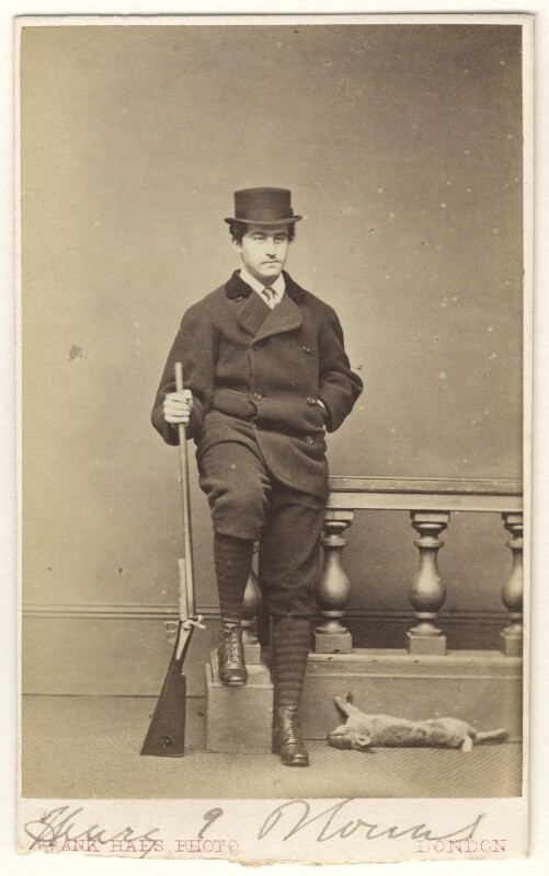 Henry Edmund Blount, by Frank Haes, late 1860s-early 1870s - NPG Ax46313 - © National Portrait Gallery, London