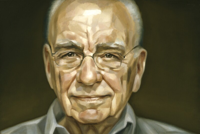 (Keith) Rupert Murdoch, by Jonathan Yeo, 2005-2006 - NPG 6789 - © National Portrait Gallery, London