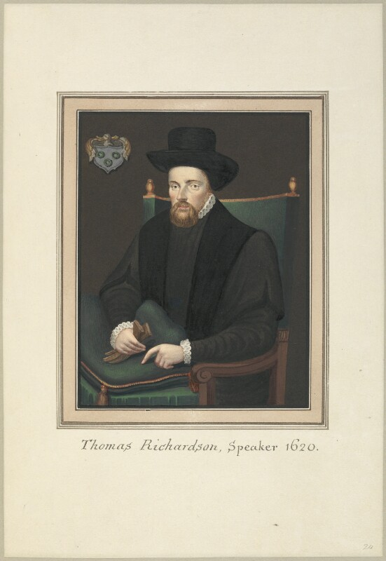 Sir Thomas Richardson, attributed to Thomas Athow, after  Unknown artist, early 19th century - NPG D23260 - © National Portrait Gallery, London