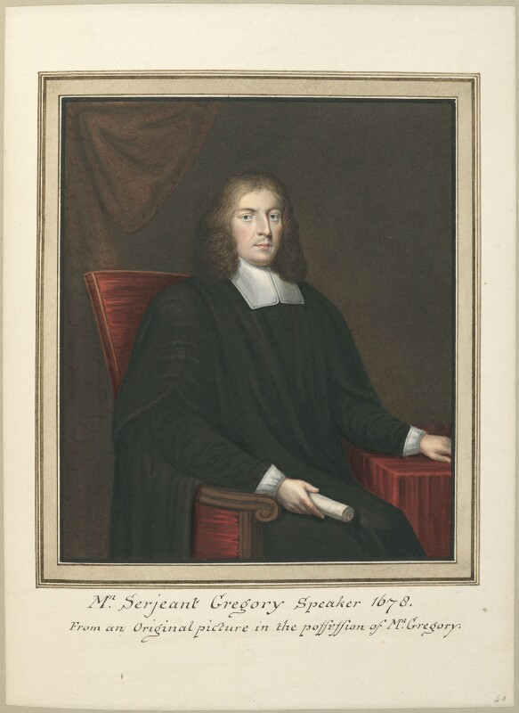 Sir William Gregory, attributed to Thomas Athow, after  Unknown artist, early 19th century - NPG D23272 - © National Portrait Gallery, London
