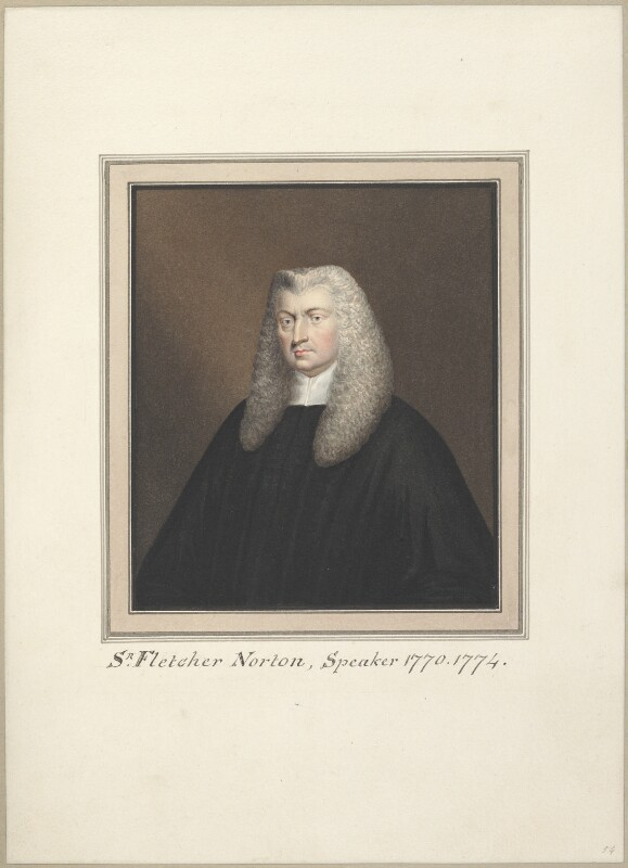 Fletcher Norton, 1st Baron Grantley, attributed to Thomas Athow, after  Unknown artist, early 19th century - NPG D23283 - © National Portrait Gallery, London