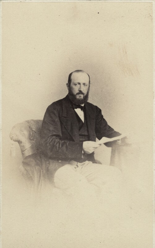 Prince Sigismund Nicholas Venantius-Gaetano-Francis Giustiniani Bandini, 8th Earl of Newburgh, by Fratelli D'Alessandri, 1860s - NPG Ax46349 - © National Portrait Gallery, London