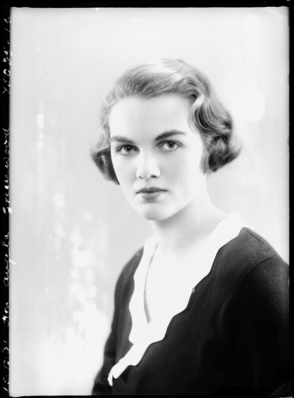 Hon. Angela Margo Hamar Delevingne (née Greenwood), by Bassano Ltd, 15 December 1931 - NPG x150789 - © National Portrait Gallery, London