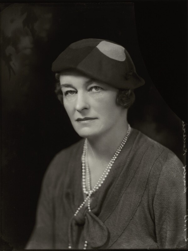 Enid Algerine Bagnold ('Lady Jones'), by Bassano Ltd, 2 January 1933 - NPG x150806 - © National Portrait Gallery, London