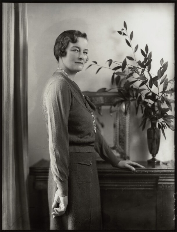 Enid Algerine Bagnold ('Lady Jones'), by Bassano Ltd, 2 January 1933 - NPG x150808 - © National Portrait Gallery, London