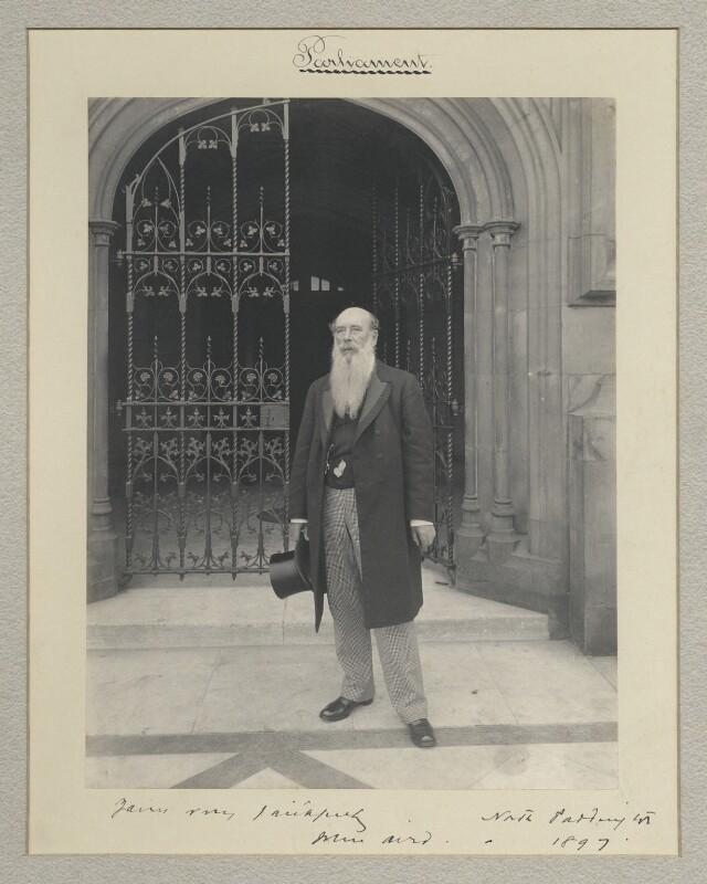 Sir John Aird, 1st Bt, by Sir (John) Benjamin Stone, 1897 - NPG x8261 - © National Portrait Gallery, London