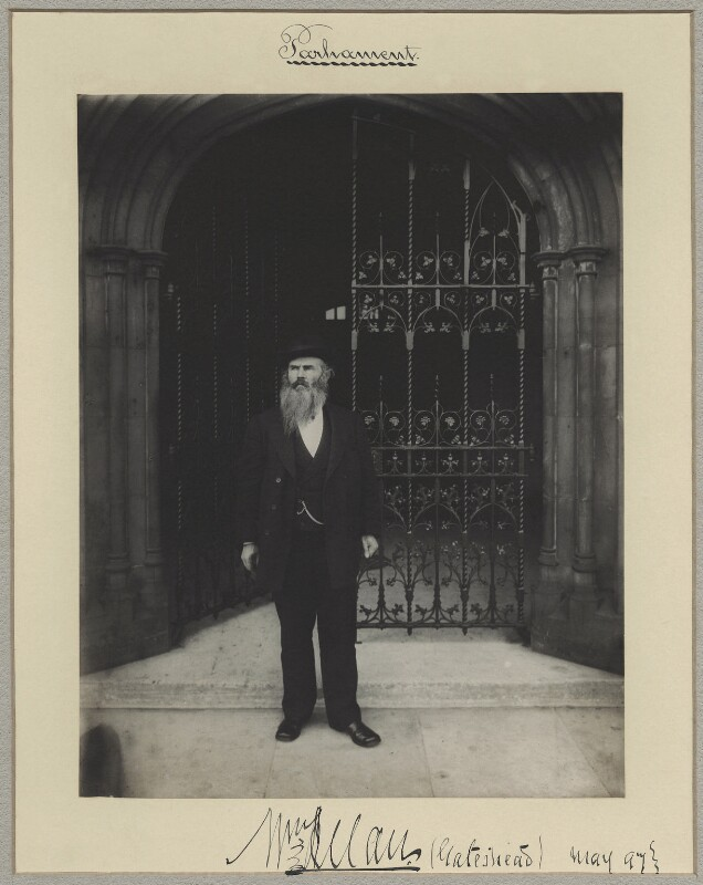 Sir William Allan, by Benjamin Stone, May 1897 - NPG x8264 - © National Portrait Gallery, London