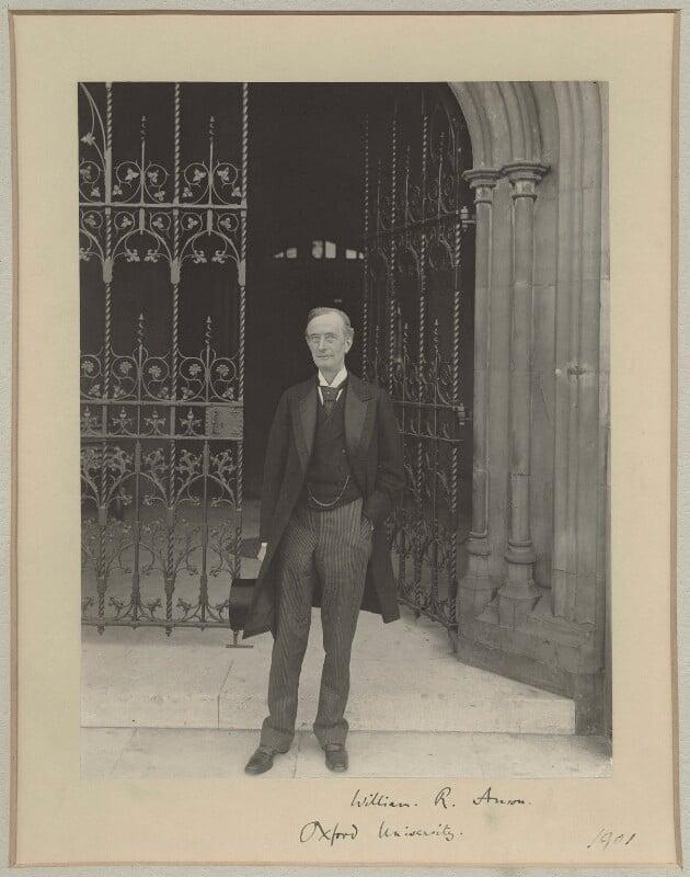 Sir William Reynell Anson, 3rd Bt, by Sir (John) Benjamin Stone, 1901 - NPG x8266 - © National Portrait Gallery, London