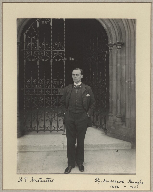 Henry Torrens Anstruther, by Benjamin Stone, circa 1897 - NPG x8268 - © National Portrait Gallery, London