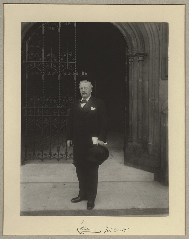 John Campbell, 9th Duke of Argyll, by Benjamin Stone, 20 July 1898 - NPG x8291 - © National Portrait Gallery, London