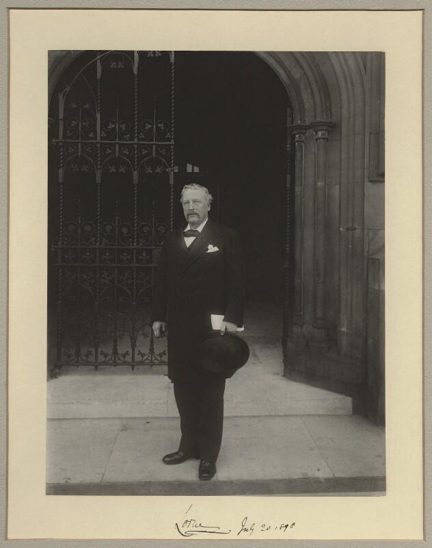 John Campbell, 9th Duke of Argyll, by Sir (John) Benjamin Stone, 20 July 1898 - NPG x8291 - © National Portrait Gallery, London