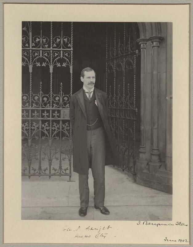 Sir John Stanhope Arkwright, by Sir (John) Benjamin Stone, June 1902 - NPG x8269 - © National Portrait Gallery, London