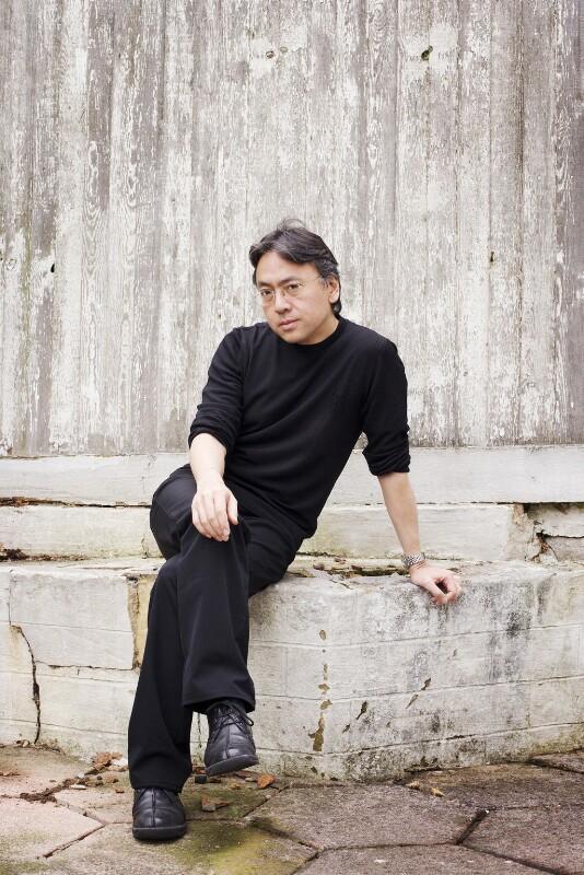 Kazuo Ishiguro, by Harry Borden, 5 July 2005 - NPG x128621 - © Harry Borden