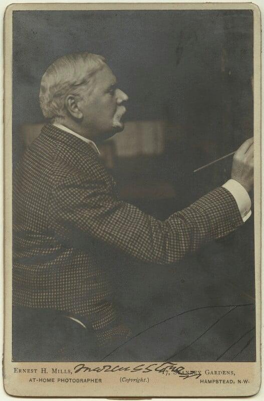 Marcus Clayton Stone, by Ernest Herbert ('E.H.') Mills, circa 1902 - NPG x15586 - © National Portrait Gallery, London