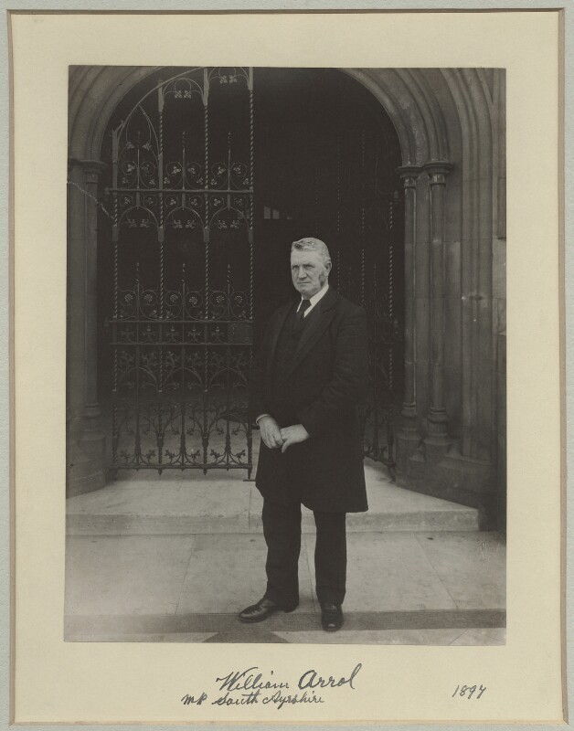 Sir William Arrol, by Benjamin Stone, 1897 - NPG x8273 - © National Portrait Gallery, London