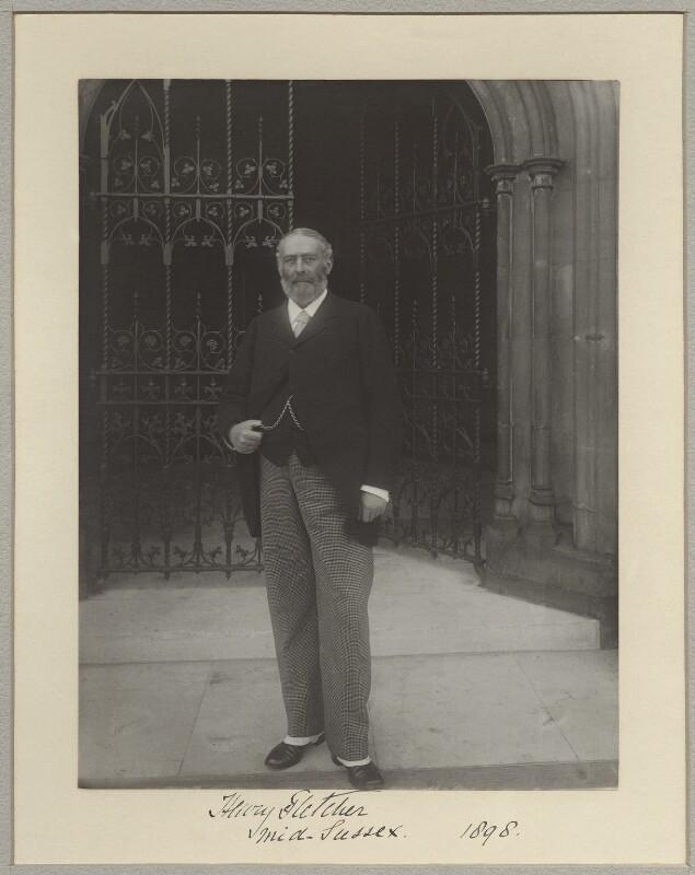 Sir Henry Aubrey-Fletcher, 4th Bt, by Sir (John) Benjamin Stone, 1898 - NPG x128588 - © National Portrait Gallery, London