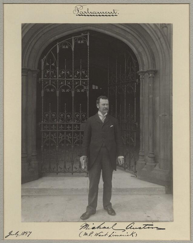 Michael Austin, by Benjamin Stone, July 1897 - NPG x8276 - © National Portrait Gallery, London