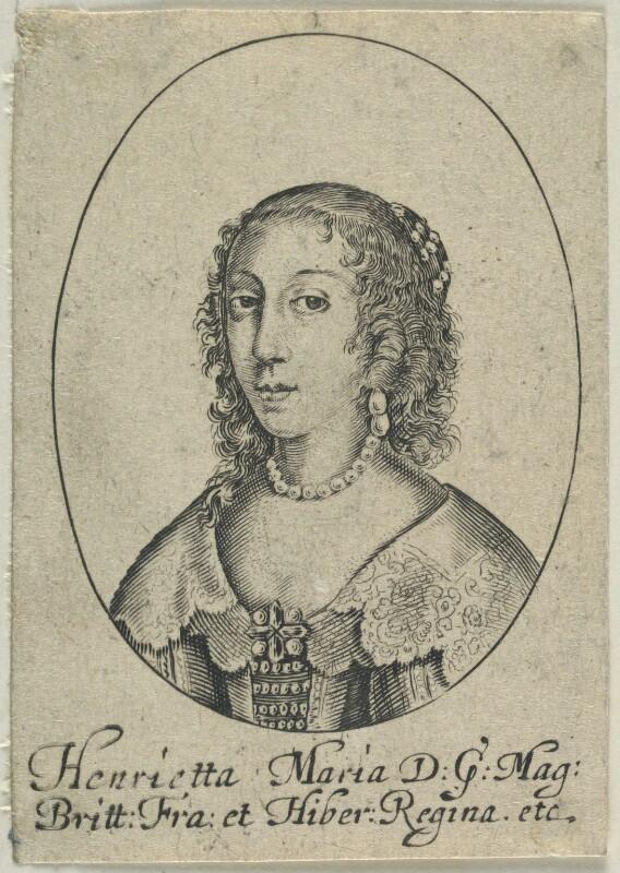 Henrietta Maria, after Sir Anthony van Dyck, 1630s-1640s - NPG D22776 - © National Portrait Gallery, London