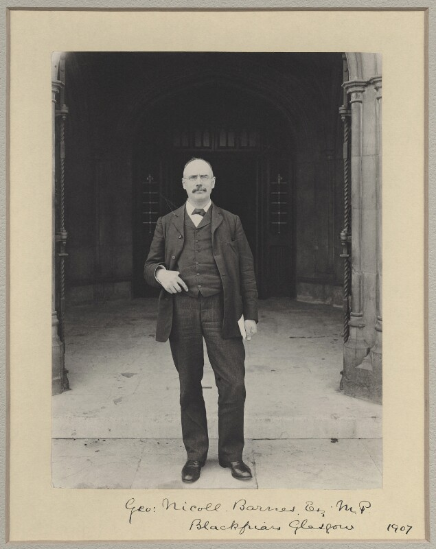 George Nicoll Barnes, by Sir (John) Benjamin Stone, 1907 - NPG x8296 - © National Portrait Gallery, London