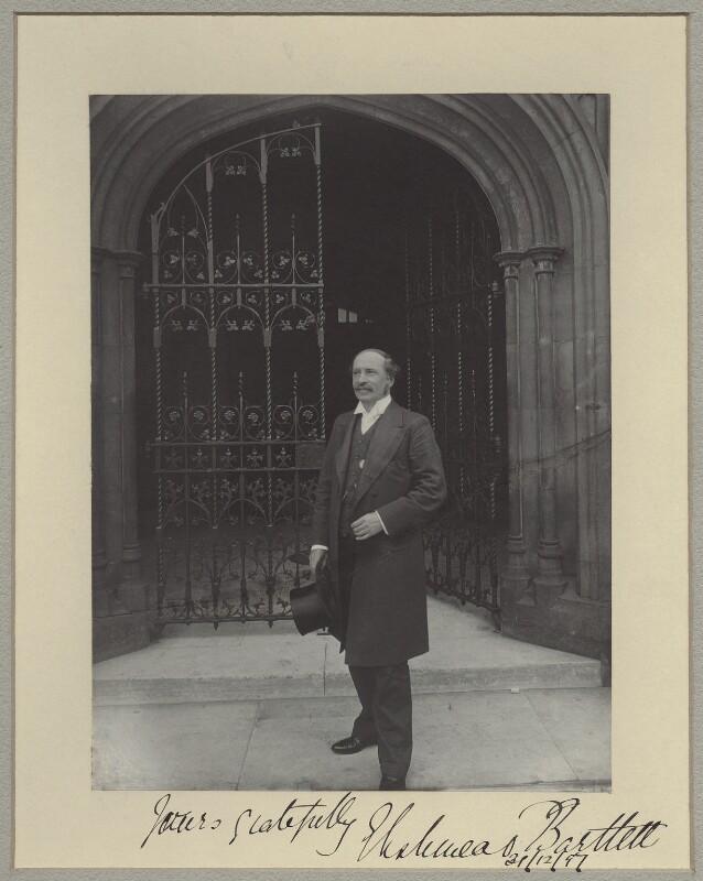 Sir Ellis Ashmead-Bartlett, by Sir (John) Benjamin Stone, 31 December 1897 - NPG x8298 - © National Portrait Gallery, London